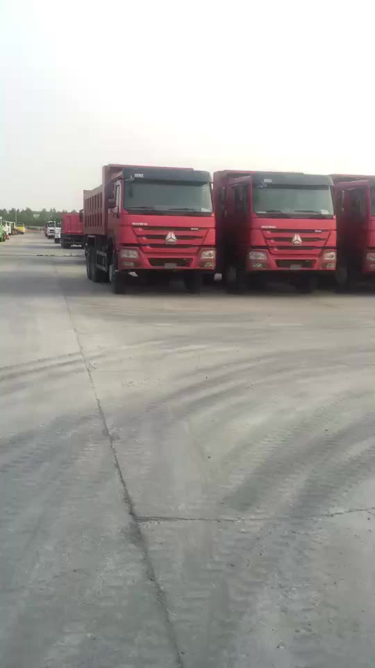 Sinotruk Howo 371hp dump truck 40tons prices for tipper truck 6x4