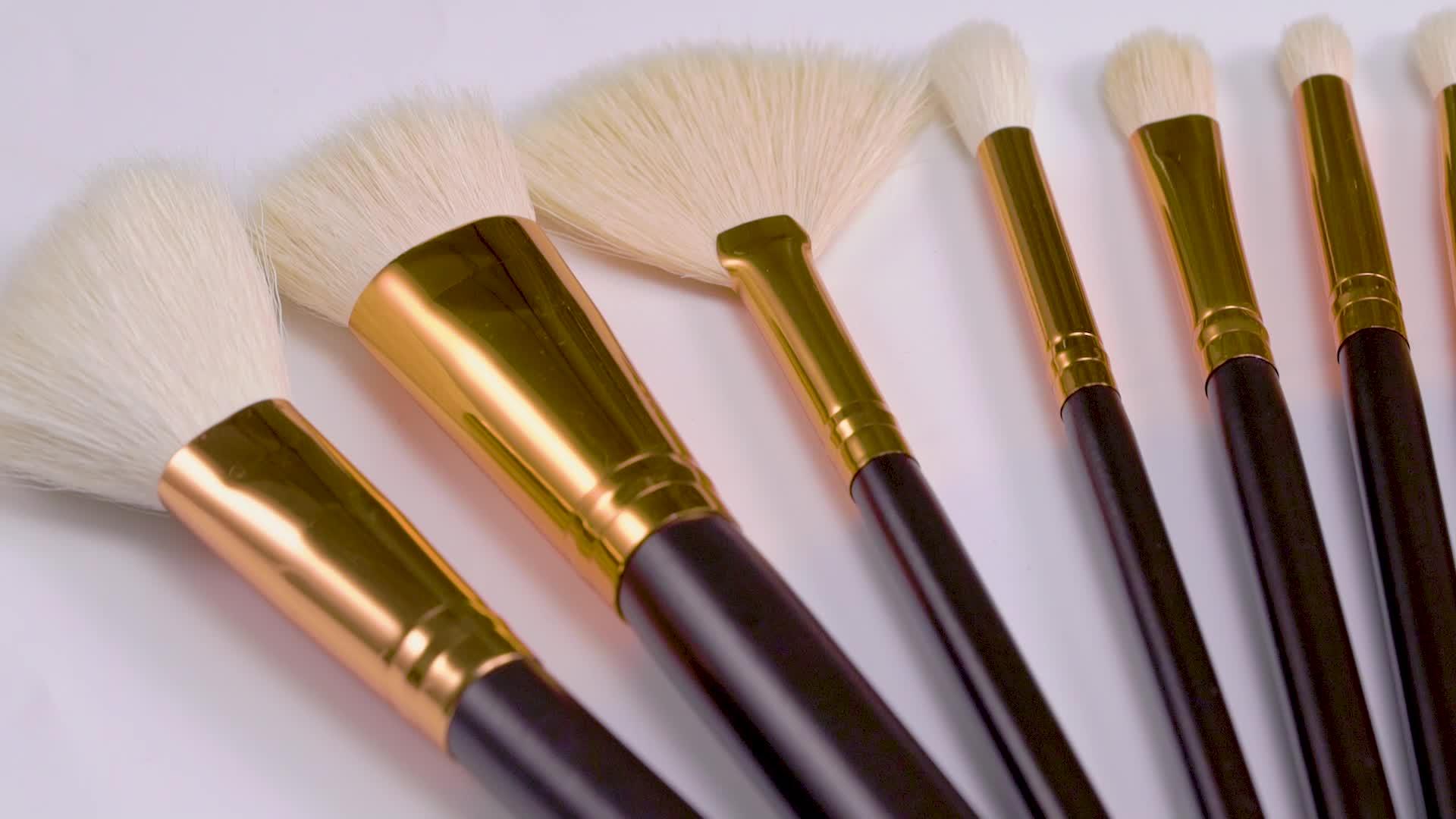 15 шт Высокое качество кисти для макияжа мягкие Косметические кисти для макияжа набор женских кистей