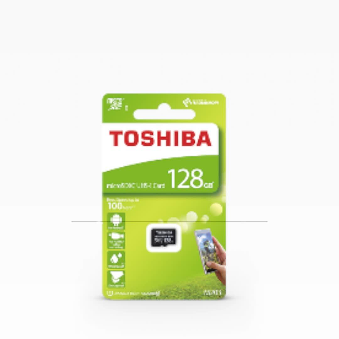 Best seller new design top quality TOSHIBA microSD card M203 32GB U1 Read 100MB/s Class 10 memory card