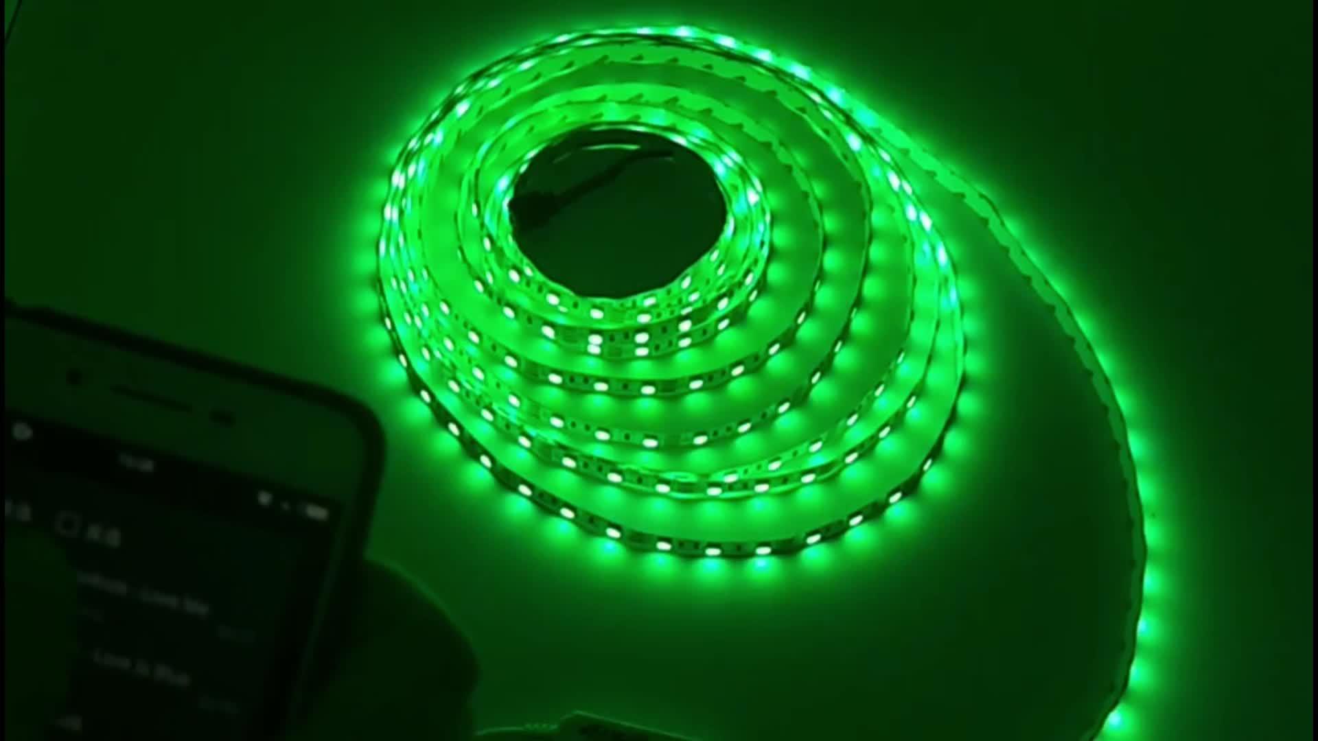 Ce بنفايات شهادة لون واحد الخلفية لشريط تلفزيون LED
