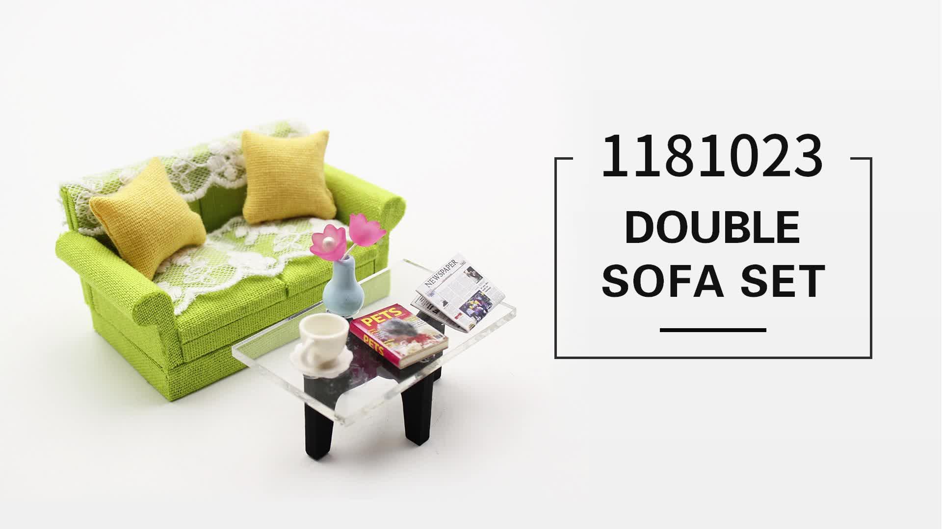 1/18 skala handgefertigten möbel modell spielzeug, moderne puppe möbel