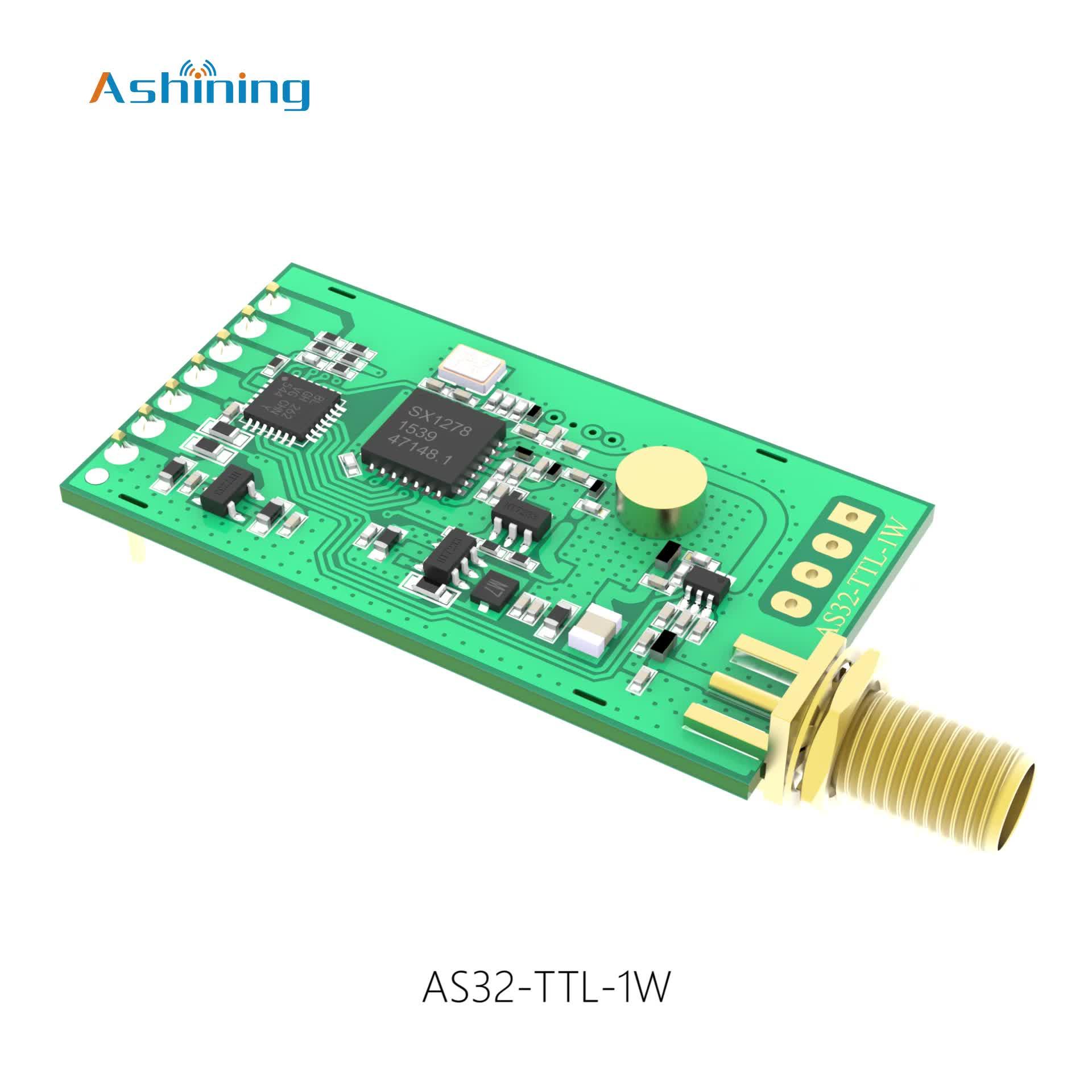 High Quality Sx1276/sx1278 Wireless 433mhz Data Transceiver Lora Evaluation Board Sx1276 Module Sx1278/sx1276