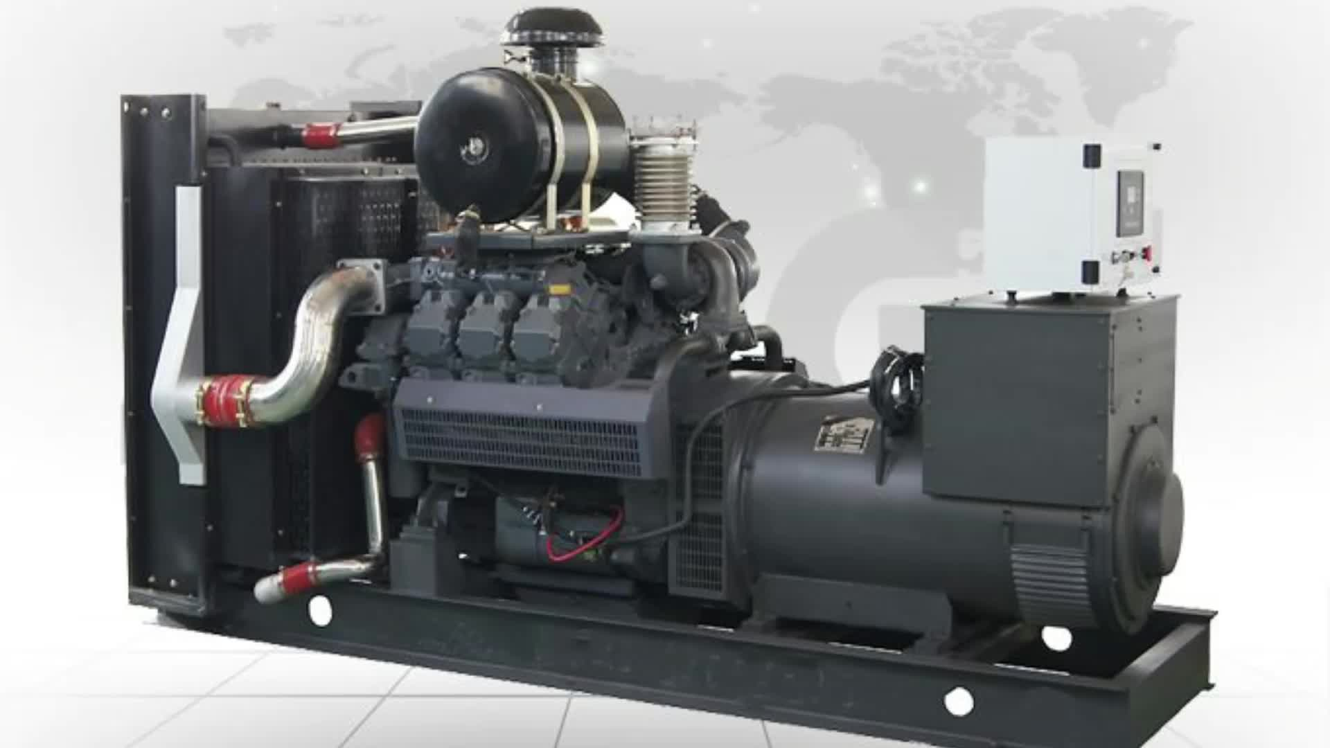 Biasino 1080kw 1350kva Generatore Diesel Set con Motore Deutz