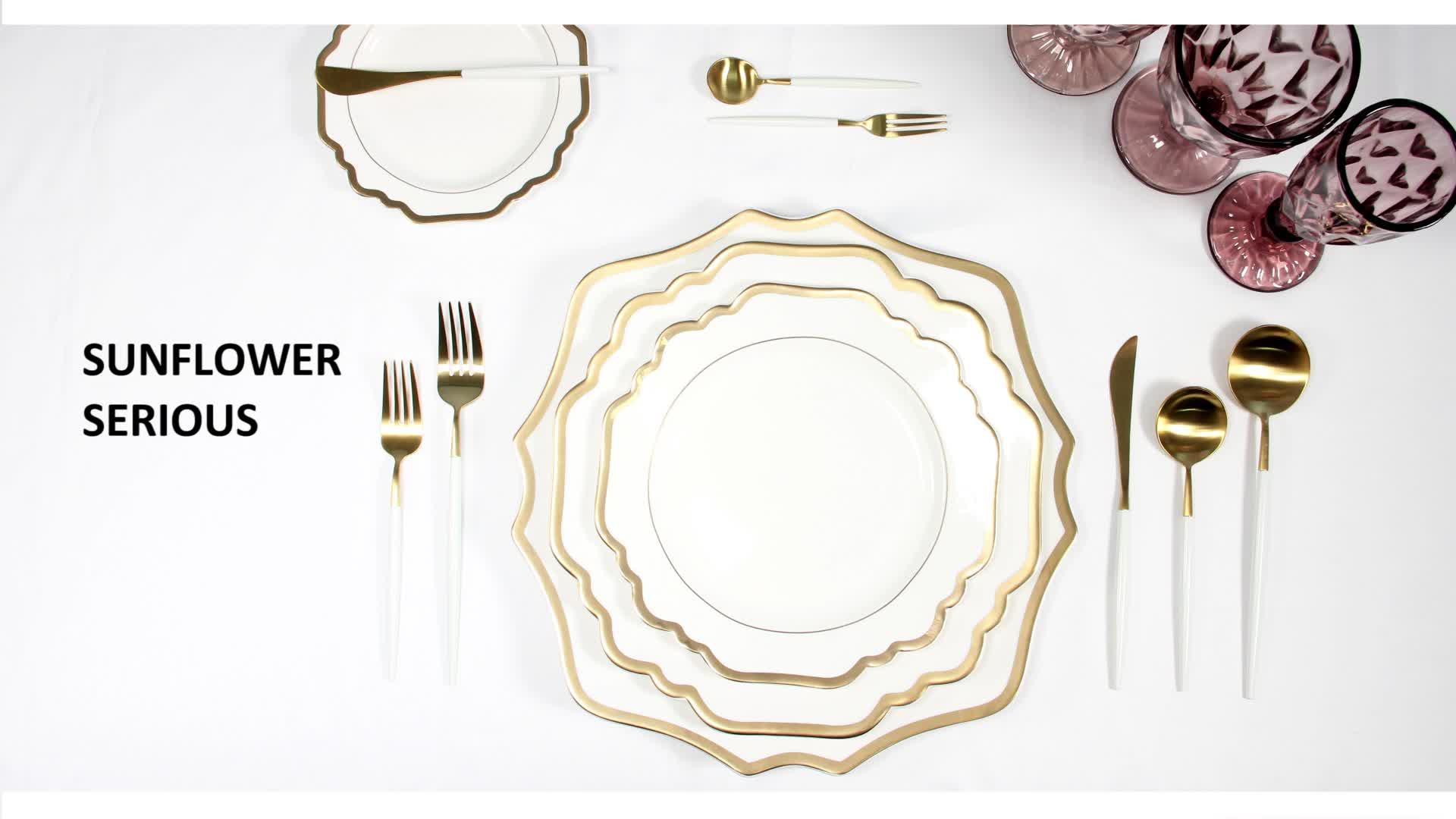 Conjuntos de placas de jantar de porcelana italiana de louça, conjuntos de placas de jantar em relevo de cerâmica do mercado da arábia saudita