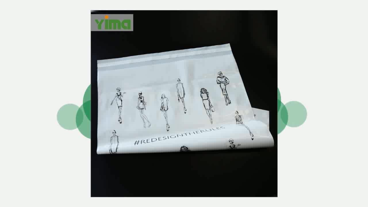 T- shirt plastic standard size transparent shopping bags