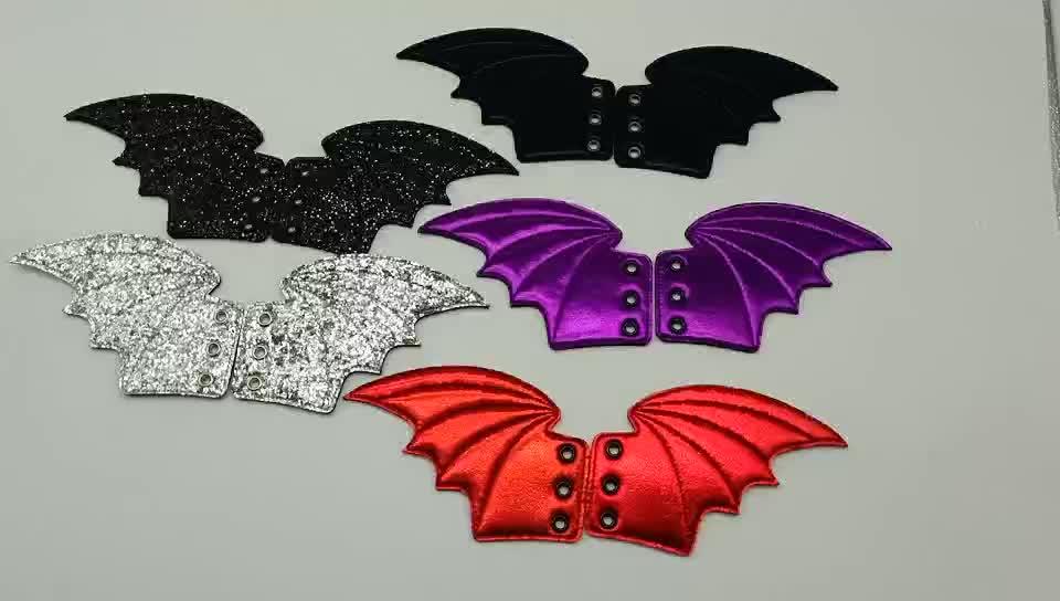 Оптовая продажа аксессуары для обуви «летучая мышь» обуви крылья