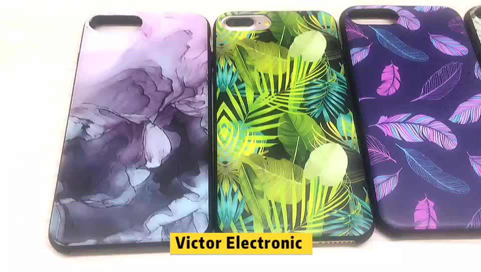 Wholesale Custom Design Liquid Silicone Mobile Accessories Back Cover Cell Phone Case For iPhone 7/8 Puls