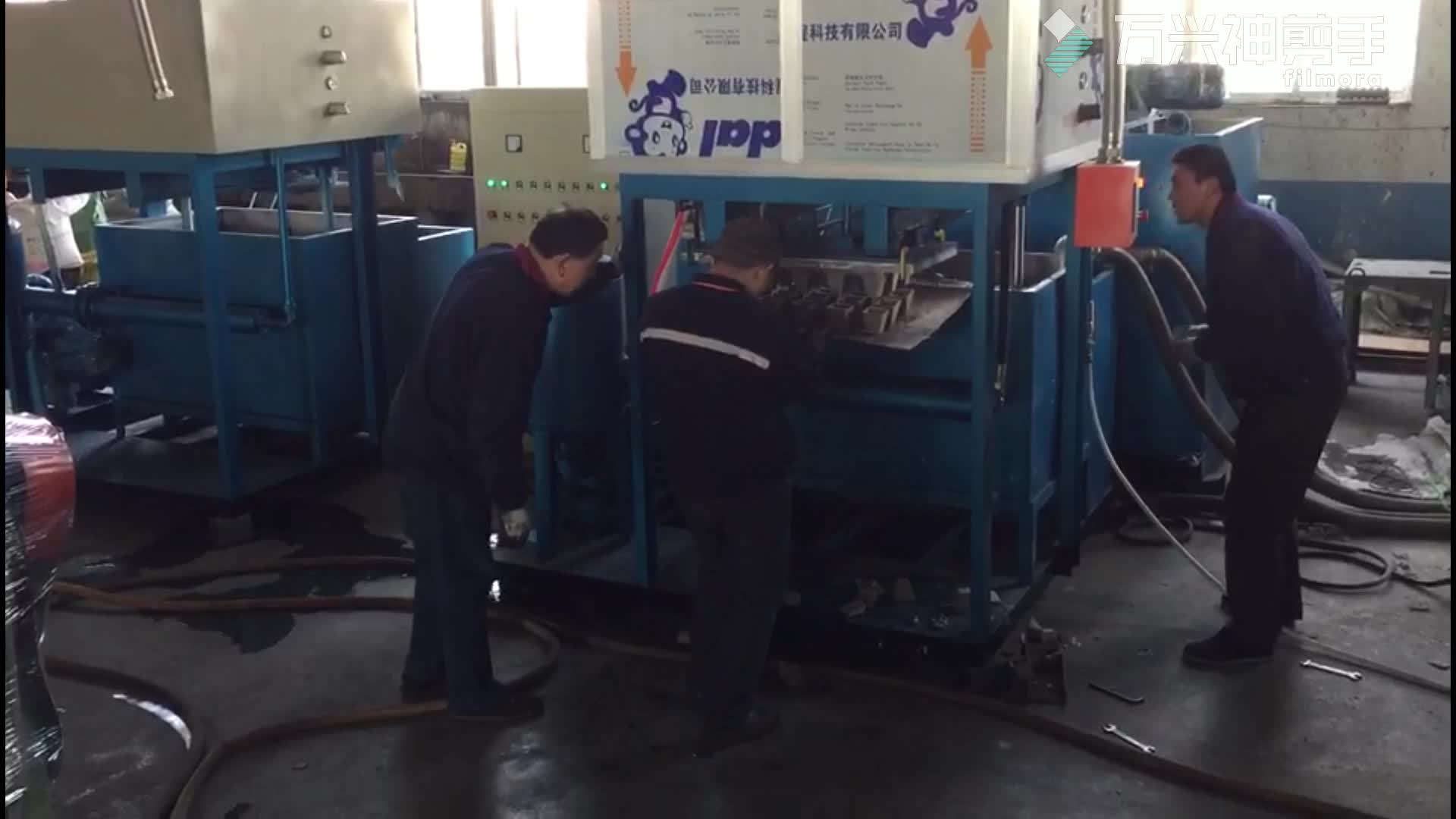 recycled paper molding fiber flower pot cup making machinery/waste paper forming seeds cup machine