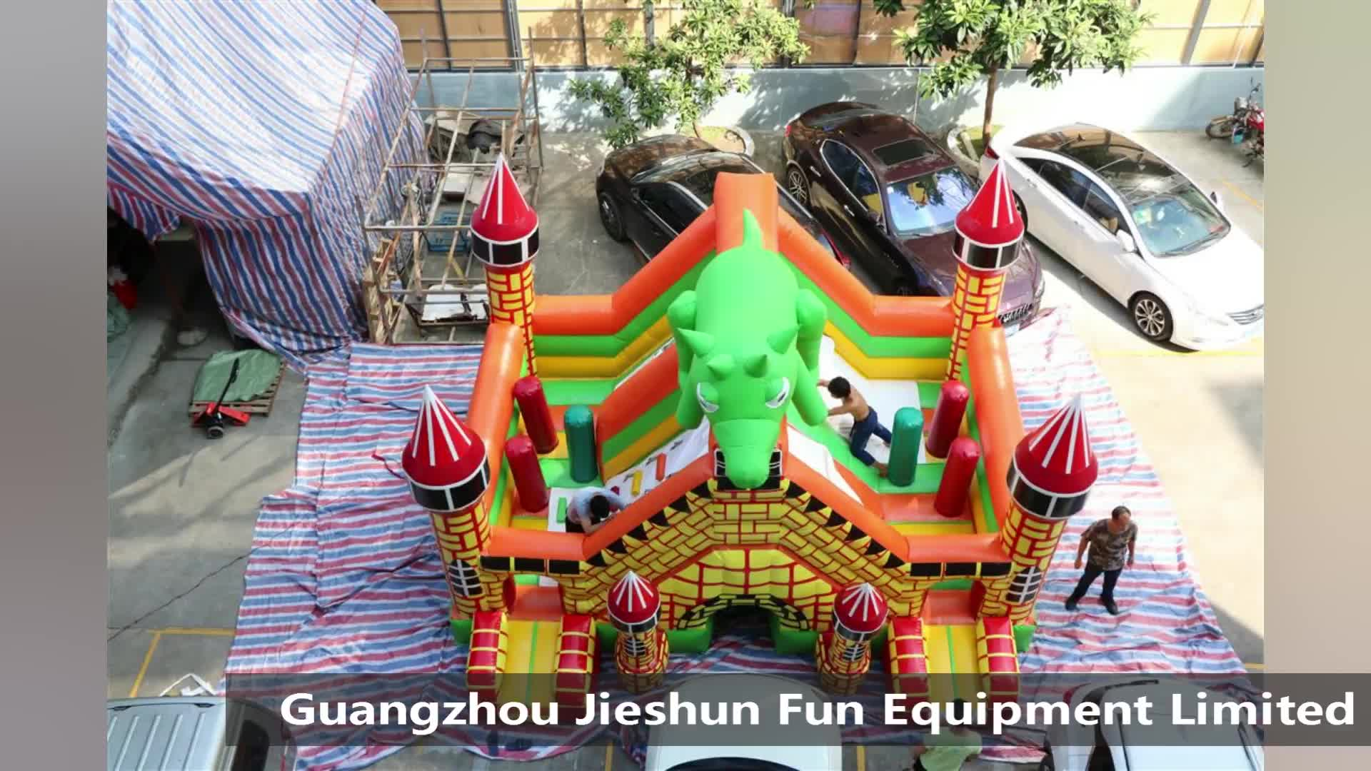 High quality manufacturer inflatables bouncy castle inflatable jumping castles inflatable bouncer house with slide for sale