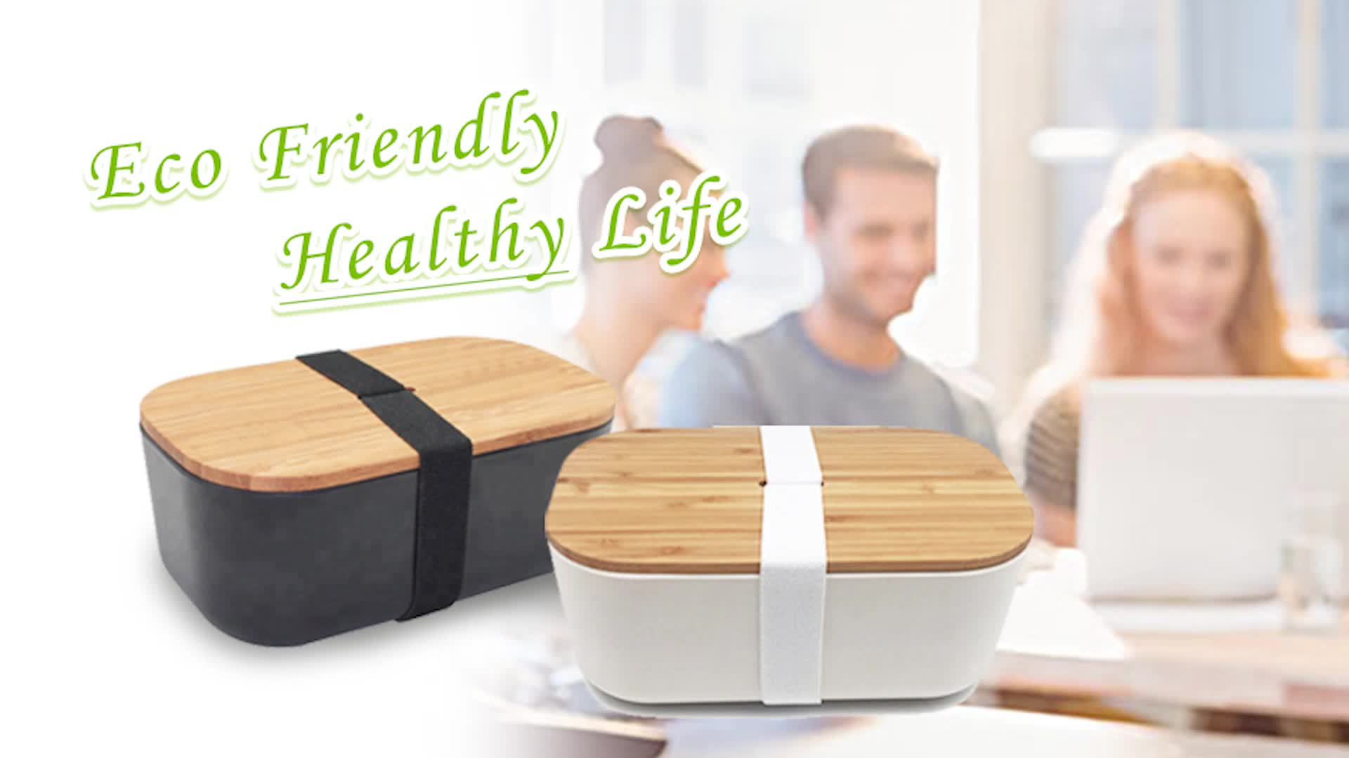 eco friendly dinner containers  food japanese style Naturally living bamboo fibre food storage  custom made bamboo lunch box