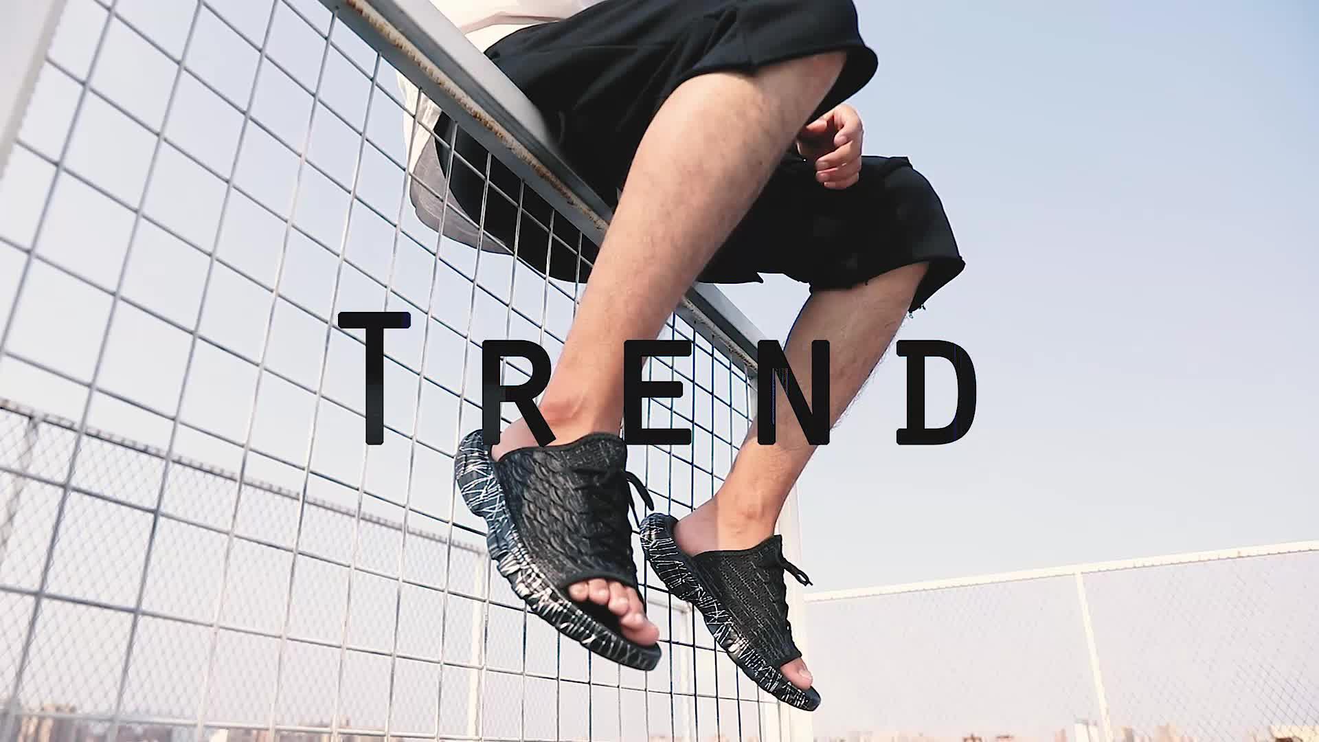 Nuovi Uomini outdoor indoor mesh traspirante estate pistone scarpe lavabile uomo fashion slipper sandali di sport di formato 39-44