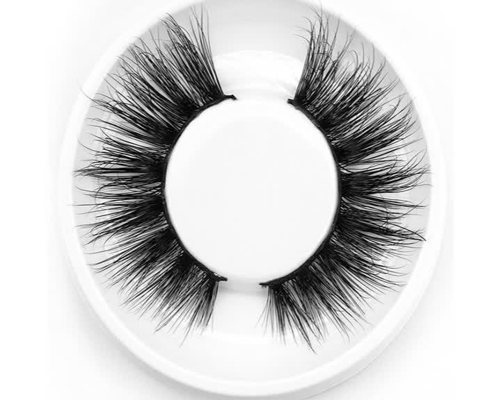OEM Augen Make-up Nerz Wimpern 3d gefälschte Wimpern Großhandel falsche Wimpern Hersteller