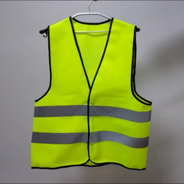 High Visibility Yellow Reflective Safety Vest