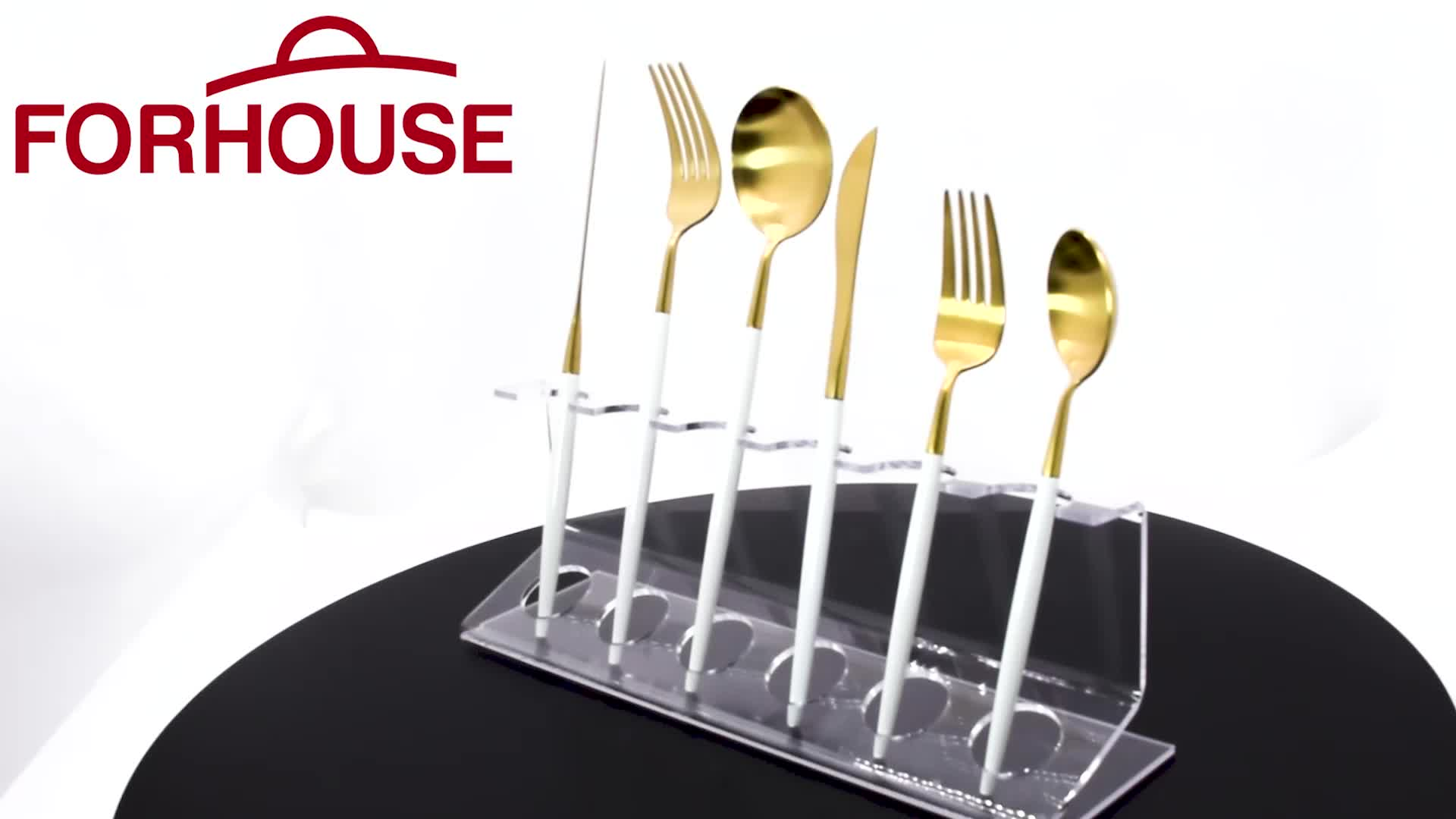 2019 Online Shopping Cutlery Rose Gold Flatware Sets For Wedding