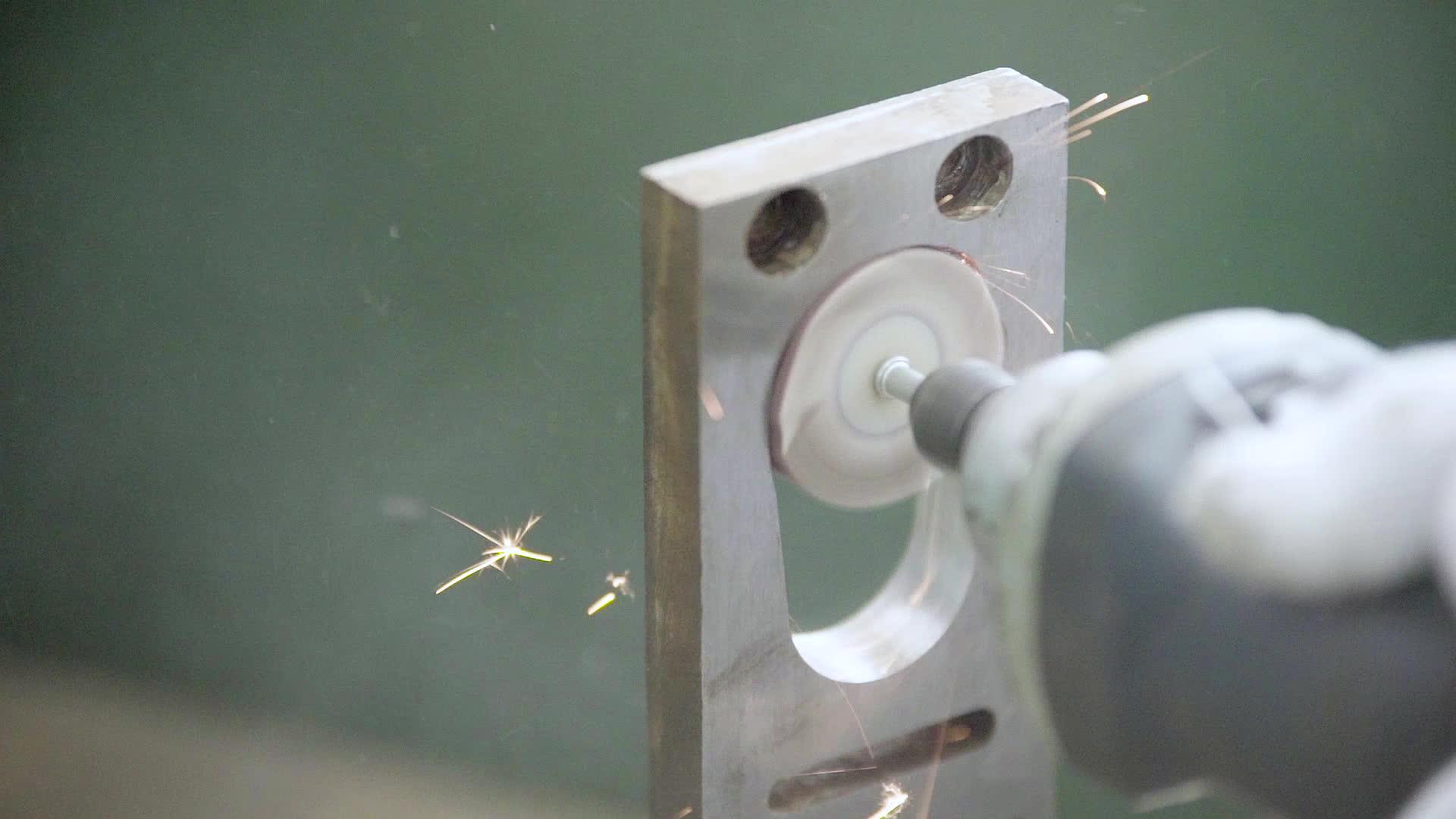 Gratis Monster 8*8*3mm Hign Kwaliteit Aluminium Oxide Flap Wiel Zonder As Schurende Polijsten Gereedschap