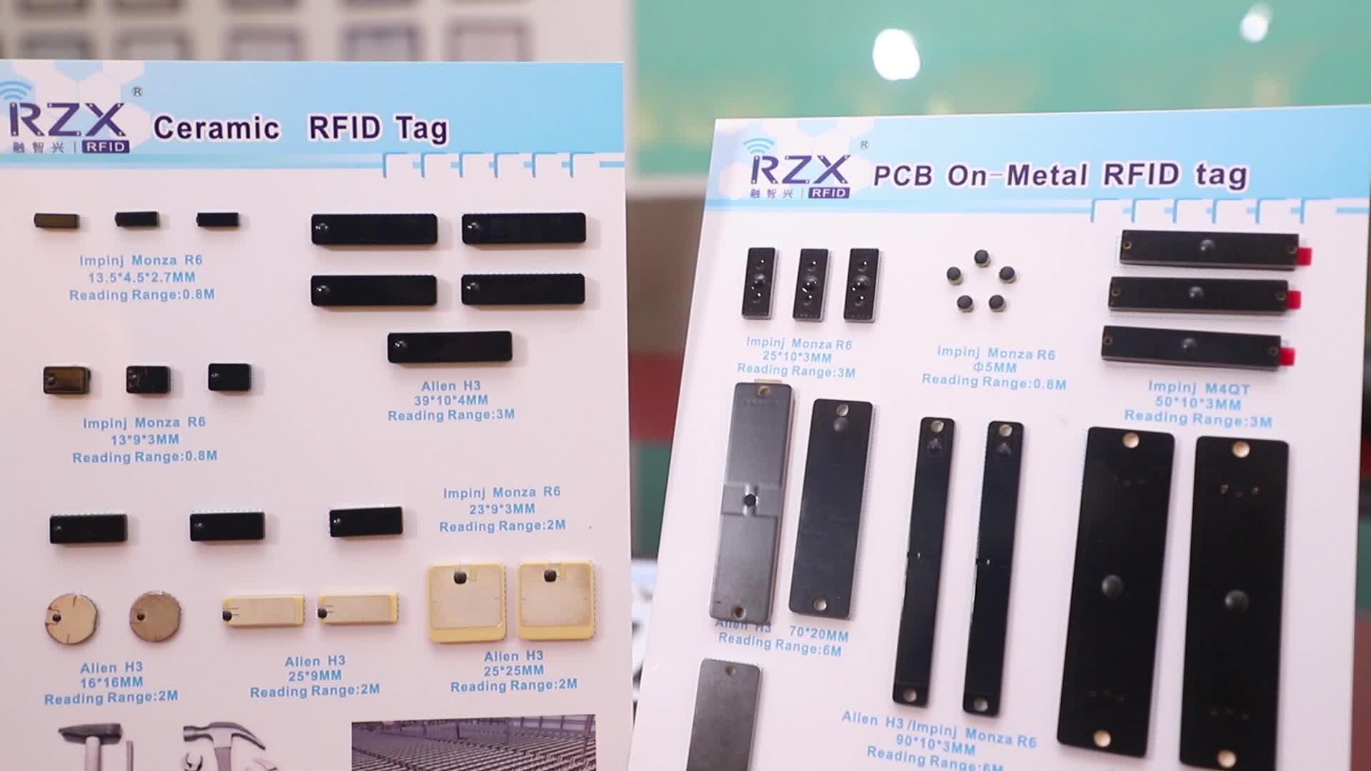 Papel recubierto de 860-960Mhz HEC Chip RFID de código de barras de la caja de cartón etiqueta/etiqueta engomada/etiqueta