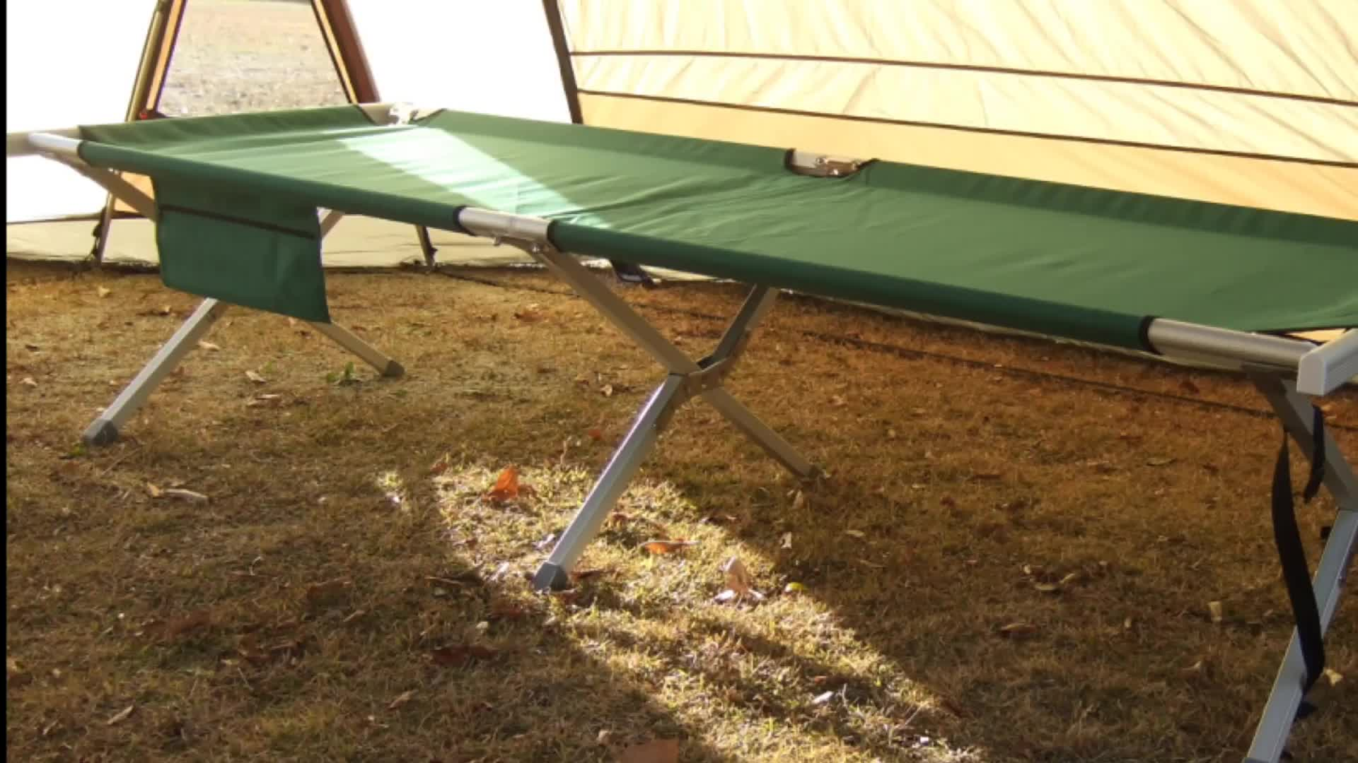 Onwaysports Aluminum Super Durable Camping Folding Bed OW-193