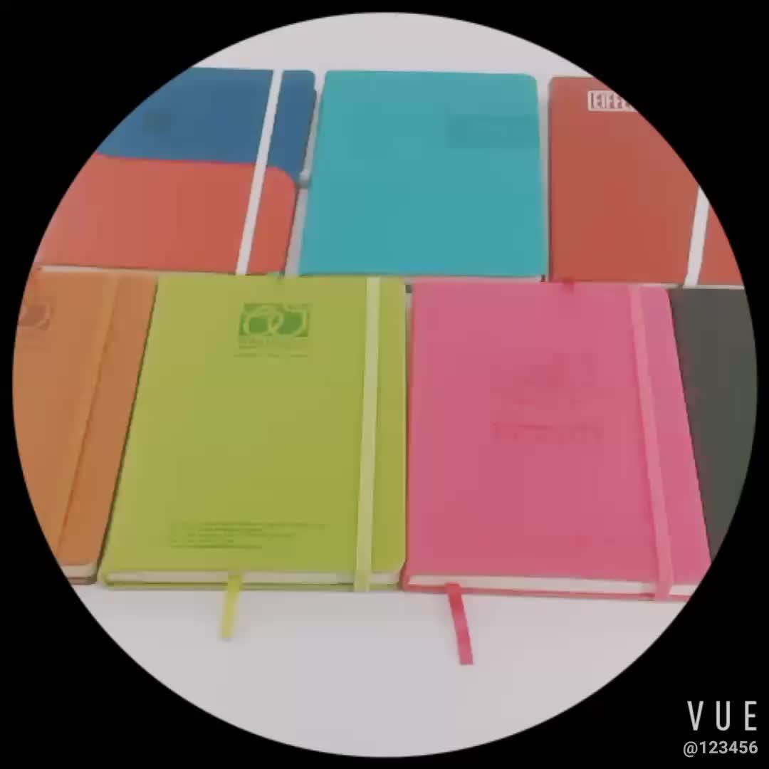 Ausgekleidet Gedruckt Leder Hardcover Hinweis Buch A5 Tagebuch B5 Weiche Abdeckung Agenda A6 Journal Planer Nach PU Leder Notebook