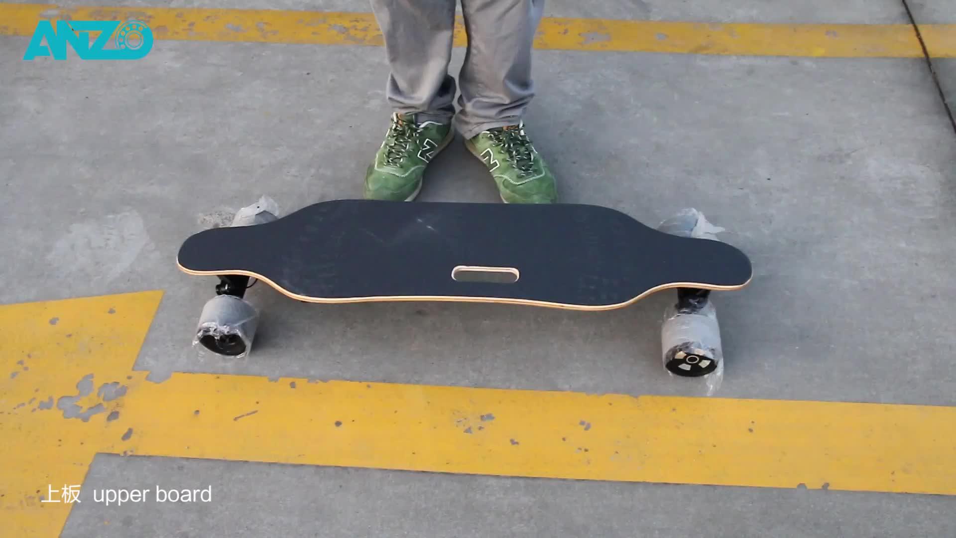 Impulsionado E Skate Longboard Skate Elétrico Rápido