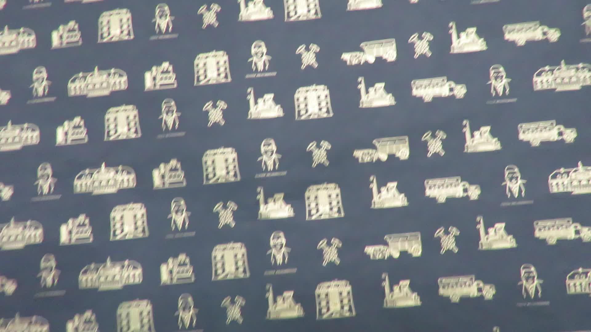 preto branco logotipo personalizado envolvendo papel de seda lenço de algodão de presente para embalagem de roupas