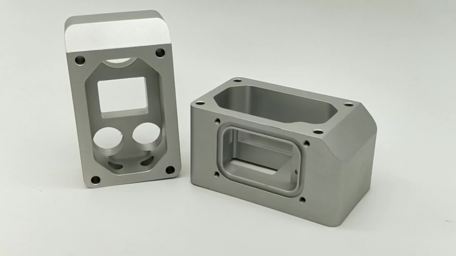 high quality china supplier OEM custom made machining precision products aluminum cnc milling parts