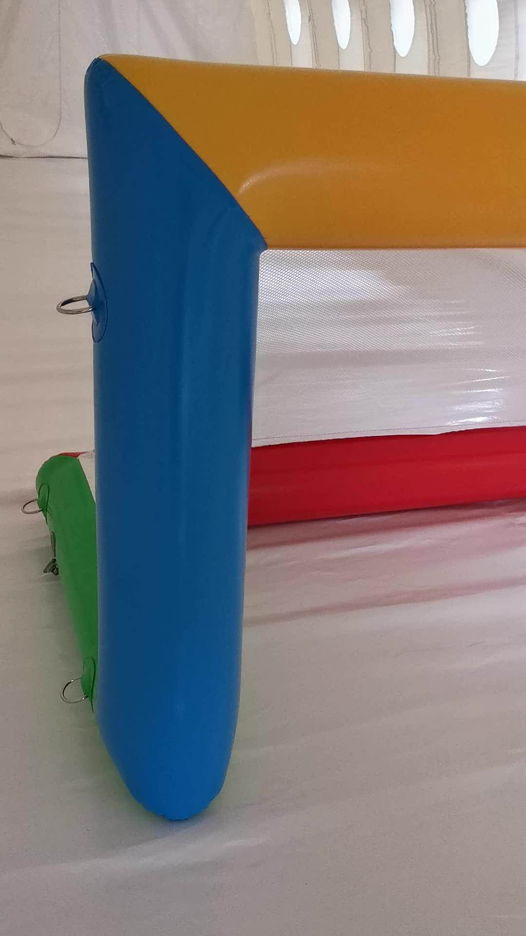 Tragbare Und Aufblasbare Sport Spiel Bereich Ball Spiel Ziel Schwimm Wasser Polo Ziel Für Kinder Und Erwachsene Im Freien Sport