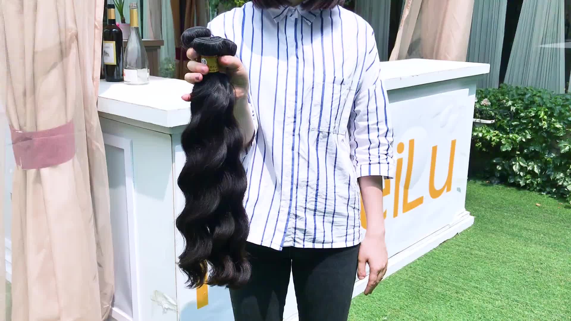 Virgin human peruvian hair ,burmese virgin hair grey human hair for braiding, nano ring human hair wholesale black hair products