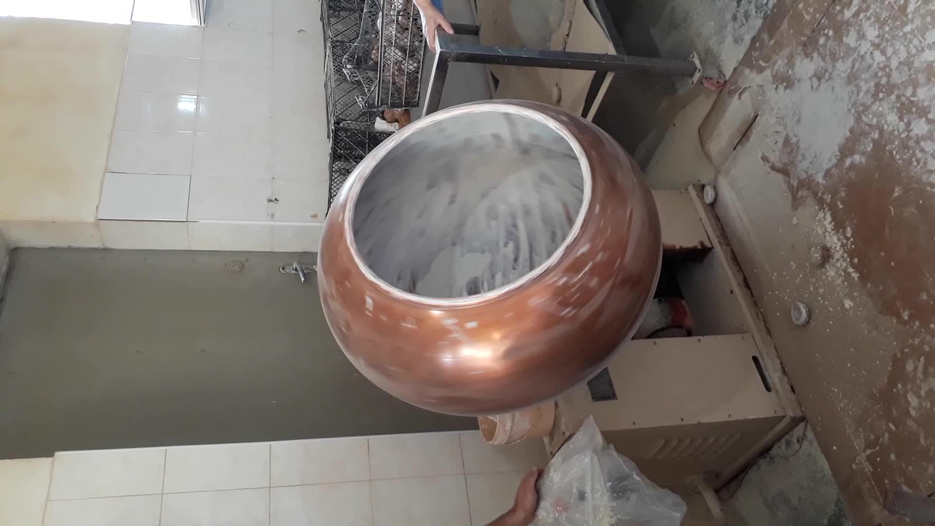 Acciaio inossidabile del commestibile del fagiolo del cioccolato zucchero macchina di rivestimento