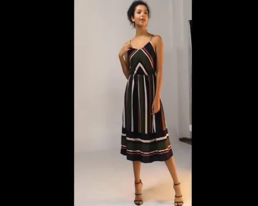 Großhandel Boho Stil Sommer Kleider, Benutzerdefinierte Mode Mädchen Casual Kleid, Hohe Qualität Sexy Frauen Kleider