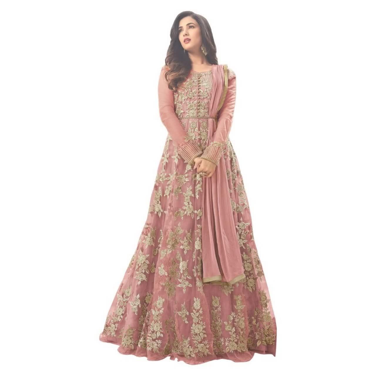 Salwar kameez สูทออกแบบอินเดียปากีสถาน chudidar สนามหญ้าชุดปัญจาบชุดวัสดุ PARTY งานแต่งงานผู้หญิงสวมใส่