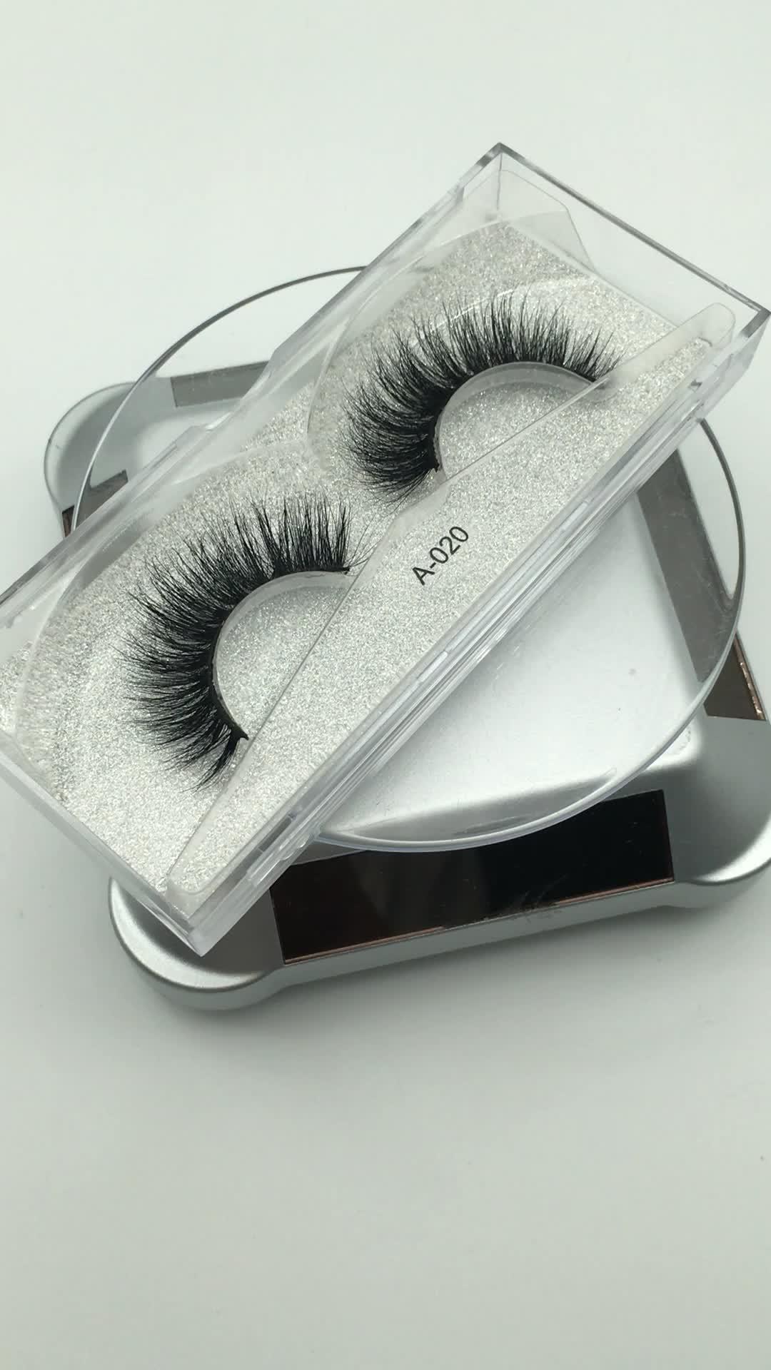 โรงงานขายส่งมืออาชีพที่กำหนดเอง 100% 3D มิงค์ขายส่งมิงค์ขนตา