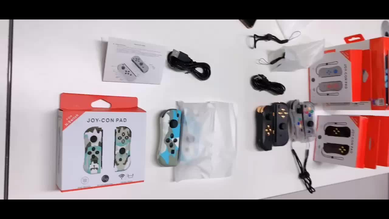 Wholesale nintendo joy con controller grip gamecube joycon for nintendo switch colorful Camouflage