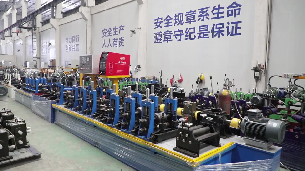 High Profit Margin Products Decorative GI / SS Stainless Steel Pipe Making Machine