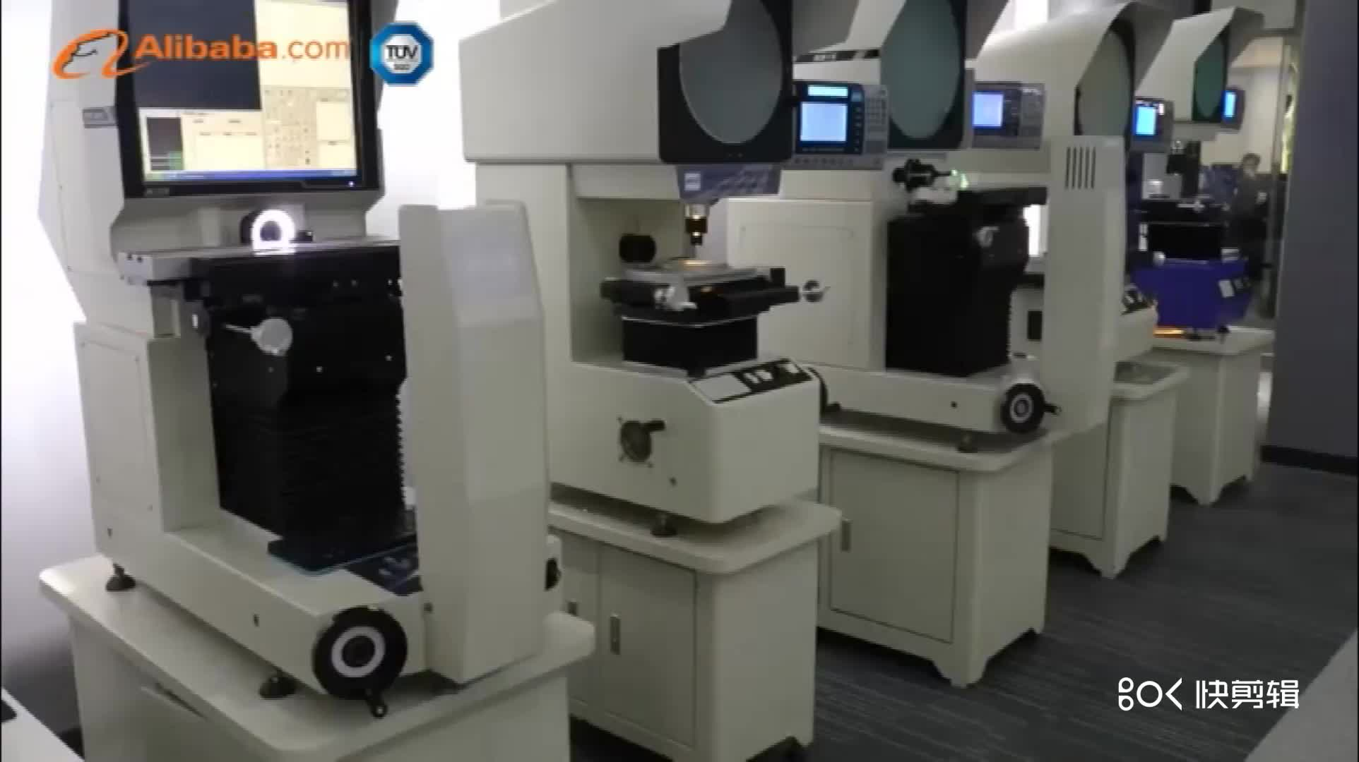 JATEN Yüksek Doğruluk CNC video ölçüm makinesi Ile KEYENCE Lazer