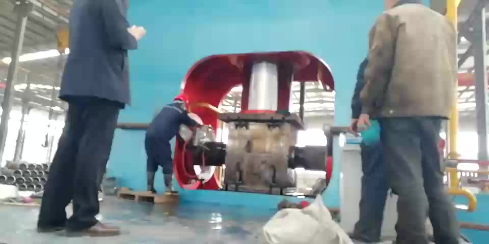 high efficiency tee cold making machine