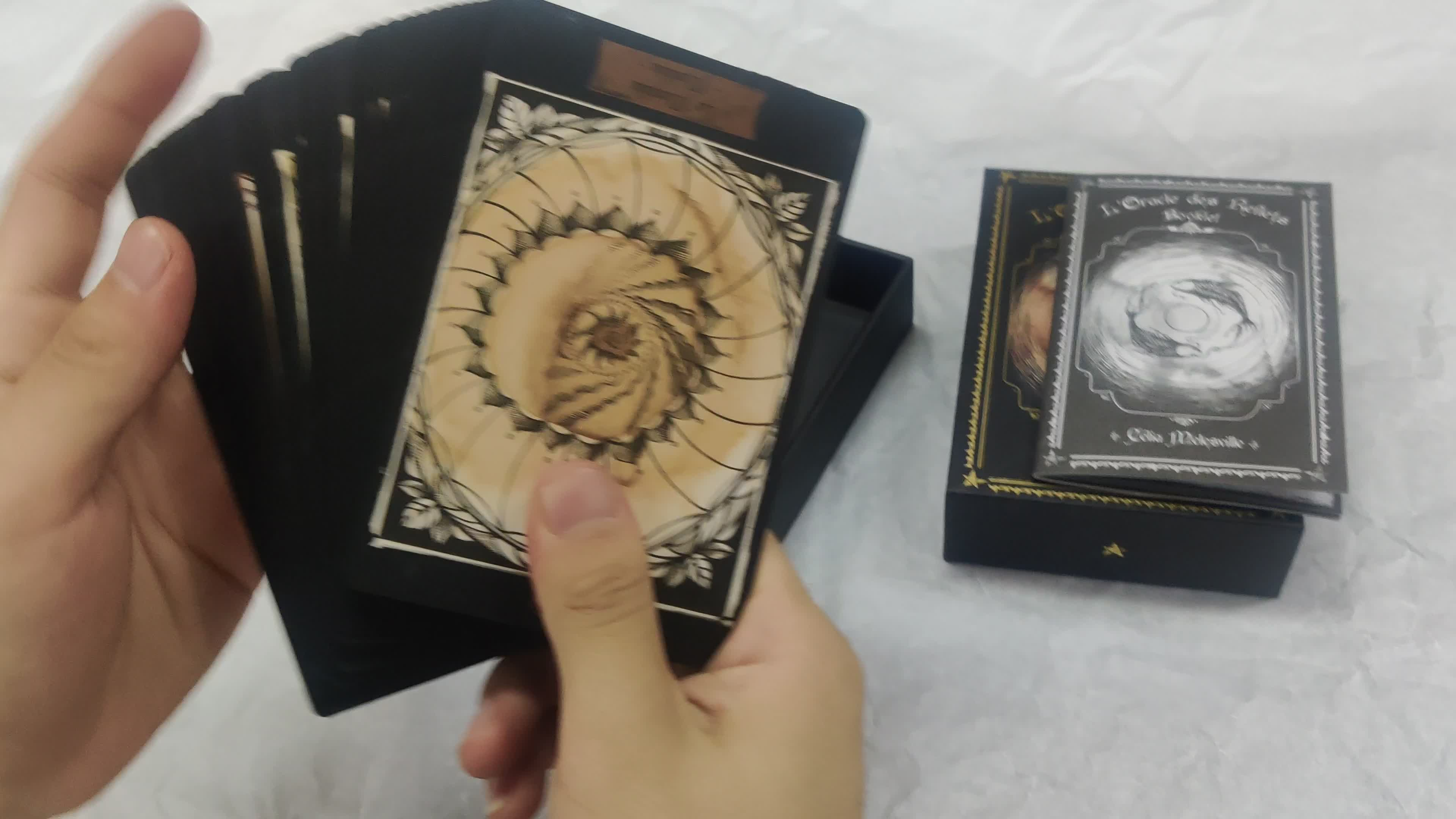 High quality custom tarot cards and boxes with book printing