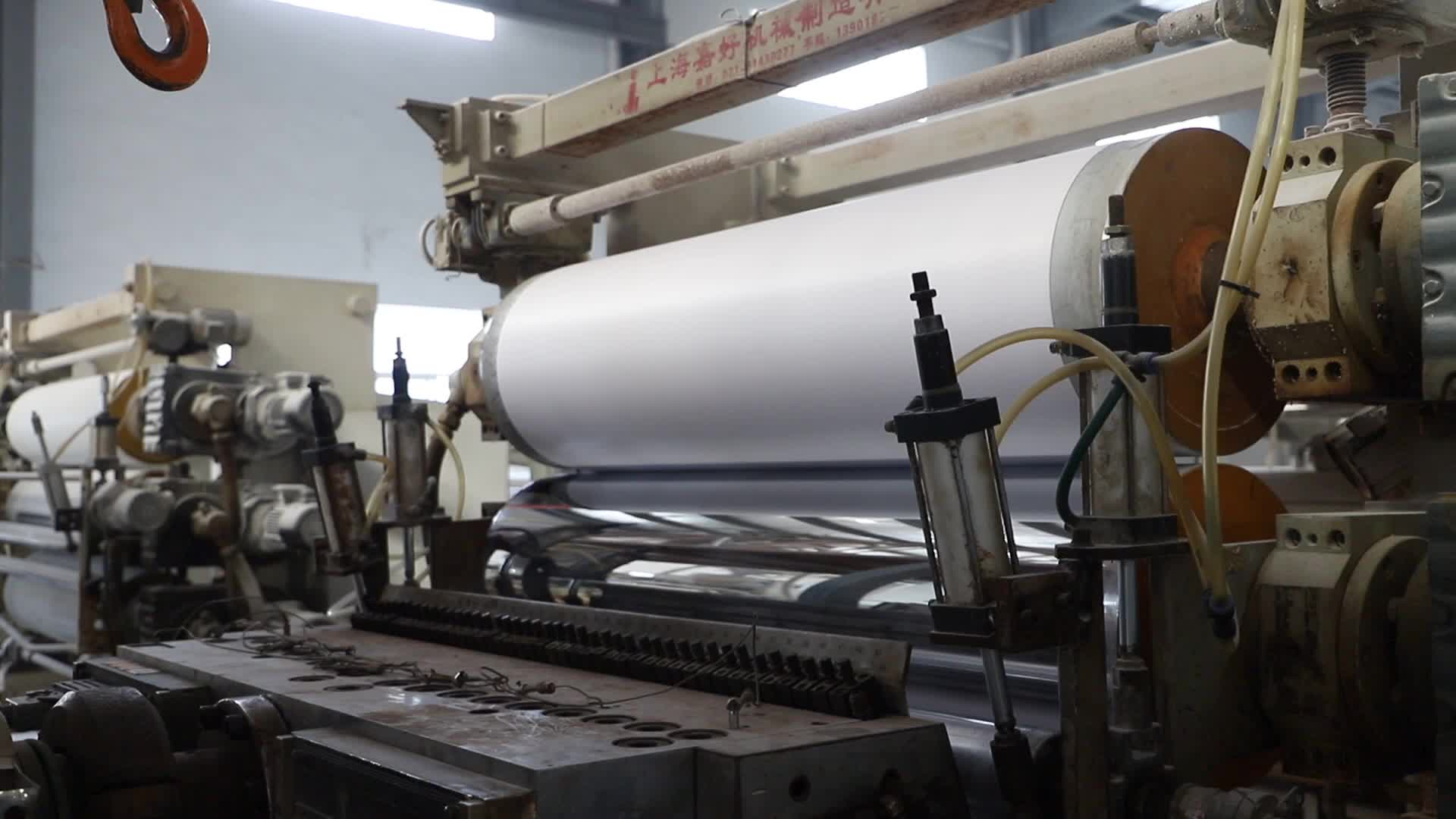 Beyaz Yüksek Yoğunluklu 4x8 Katı PVC köpük panel/PVC Plastik Bloklar Baskı Için