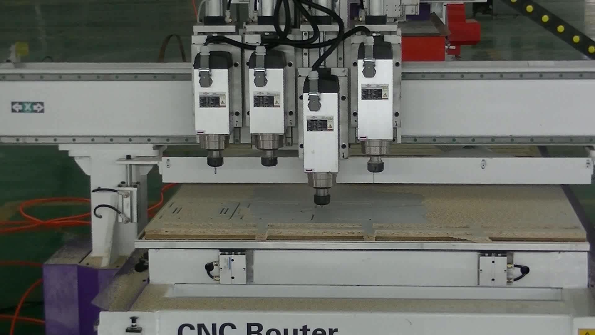 Последние 1325 мебельная промышленность используется CNC шкаф деревянные двери делая машину с экономичной стоимостью