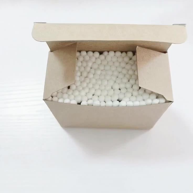 ร้อนขายอินทรีย์สำลี q เคล็ดลับความงามกระดาษติดเครื่องสำอางสำลี swabs ในกล่องกระดาษ