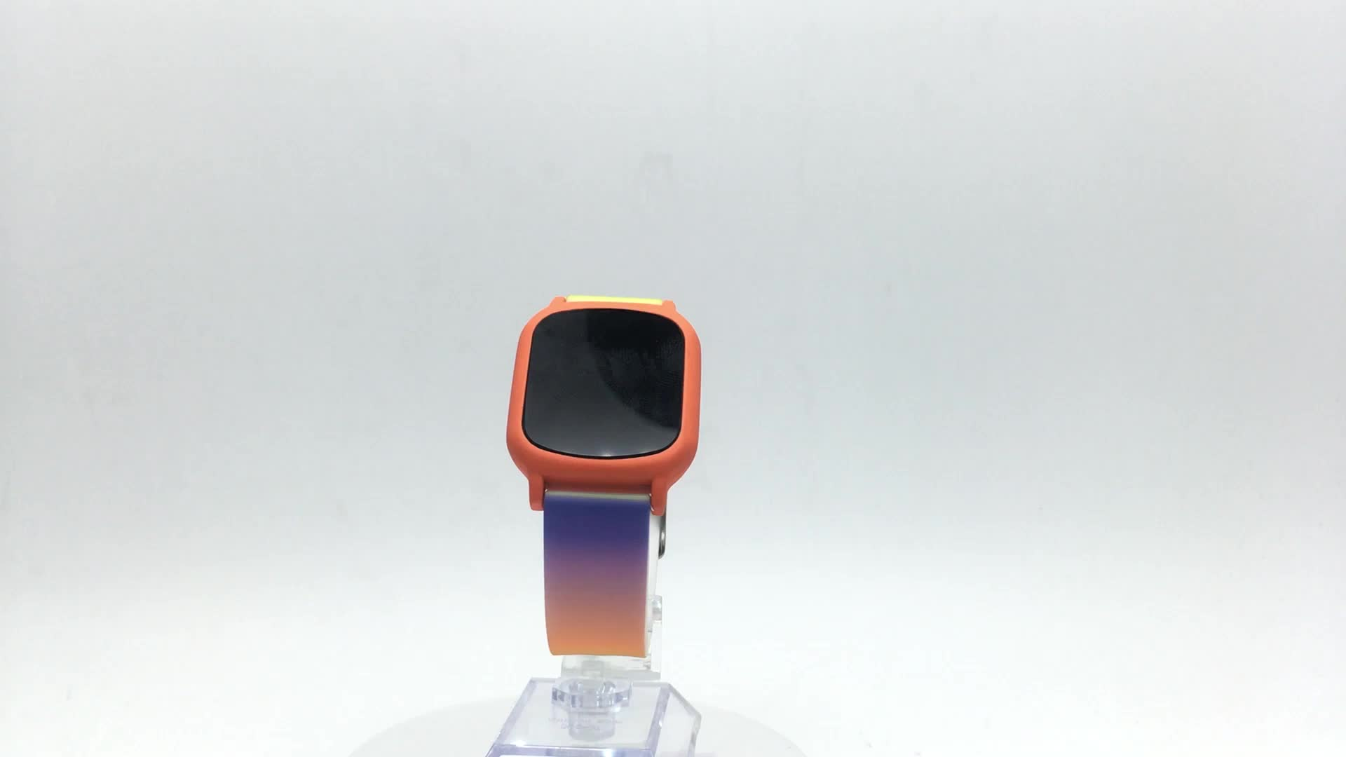 Promotional Fashion Cheap Customize Touch Screen Silicone Square Digital Watch For Man