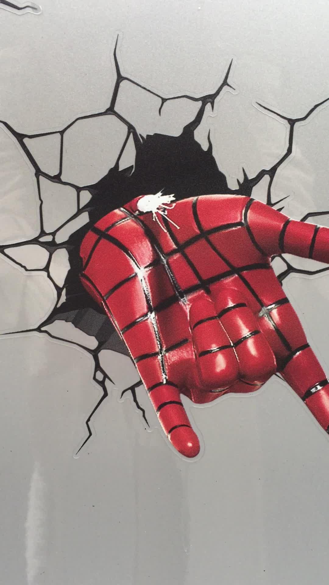 ETIE de PVC de hierro hombre 3D etiqueta de la pared para la decoración del hogar pegatina para coche accesorios de decoración impermeable