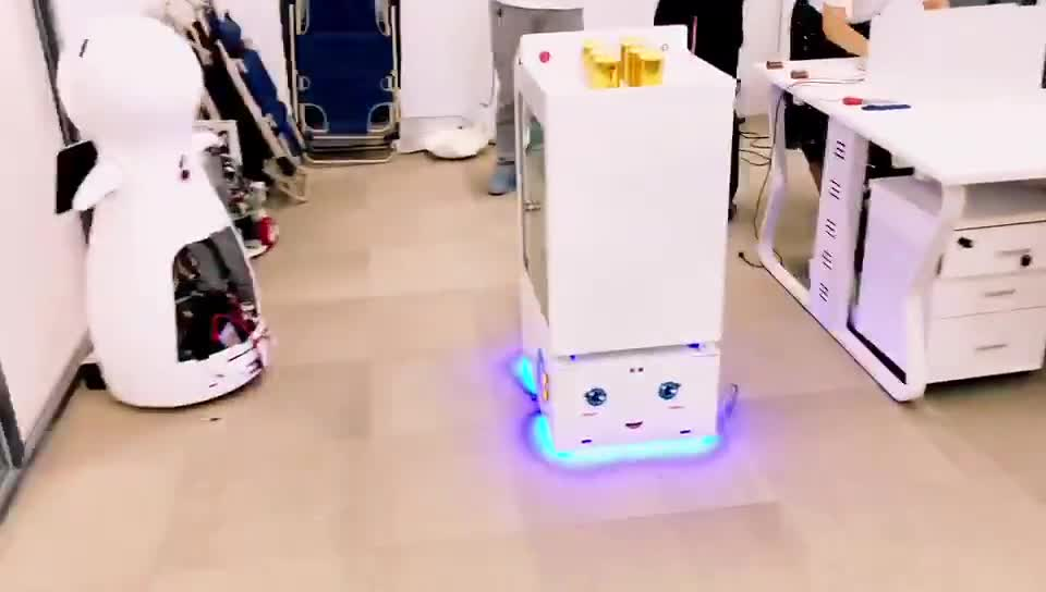 Smart cart  Robot Waiter food delivery Robot Restaurant Robot