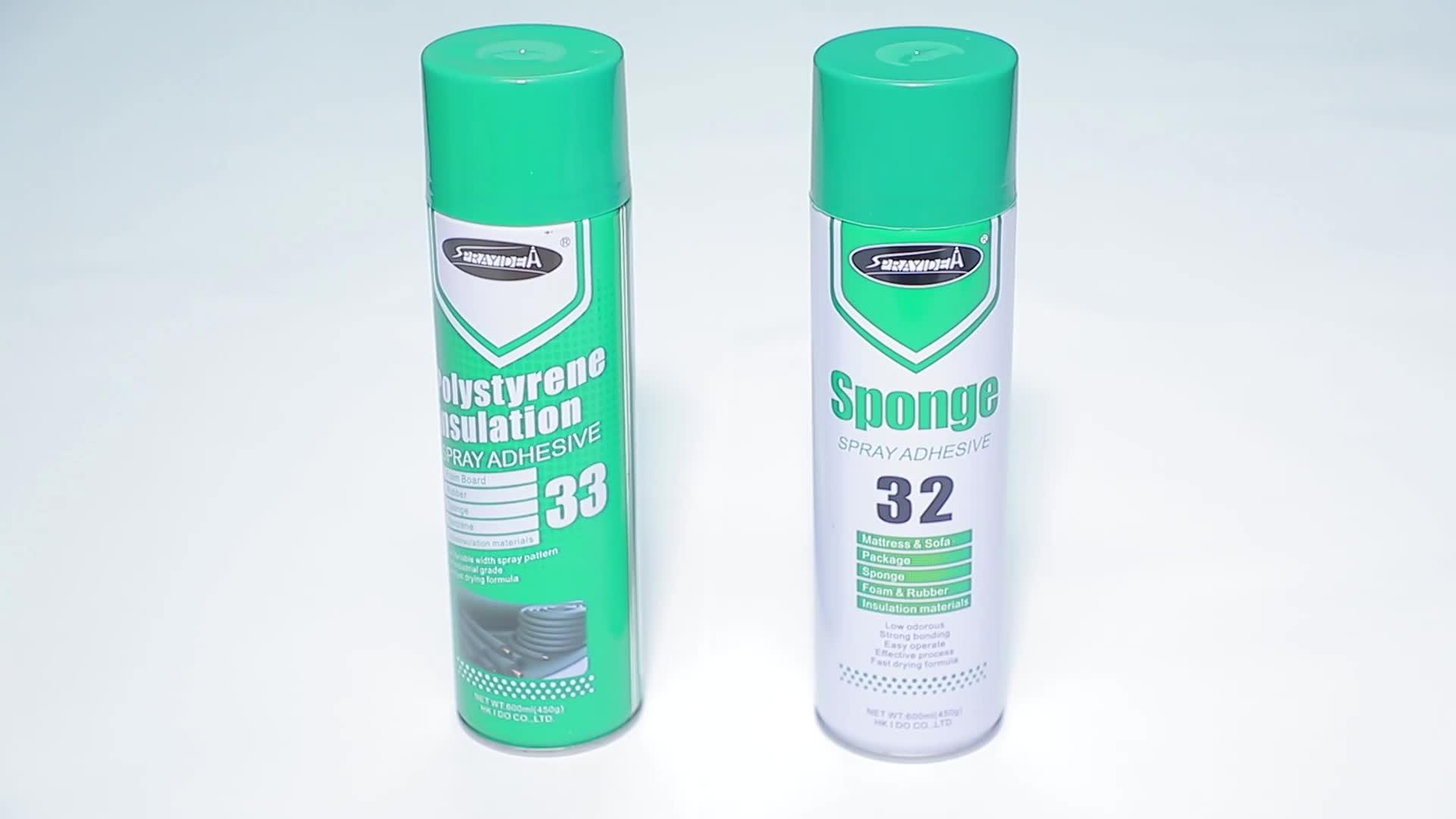 Multipurpose Sealant Aerosol Adhesive Spray Glue For Carpet