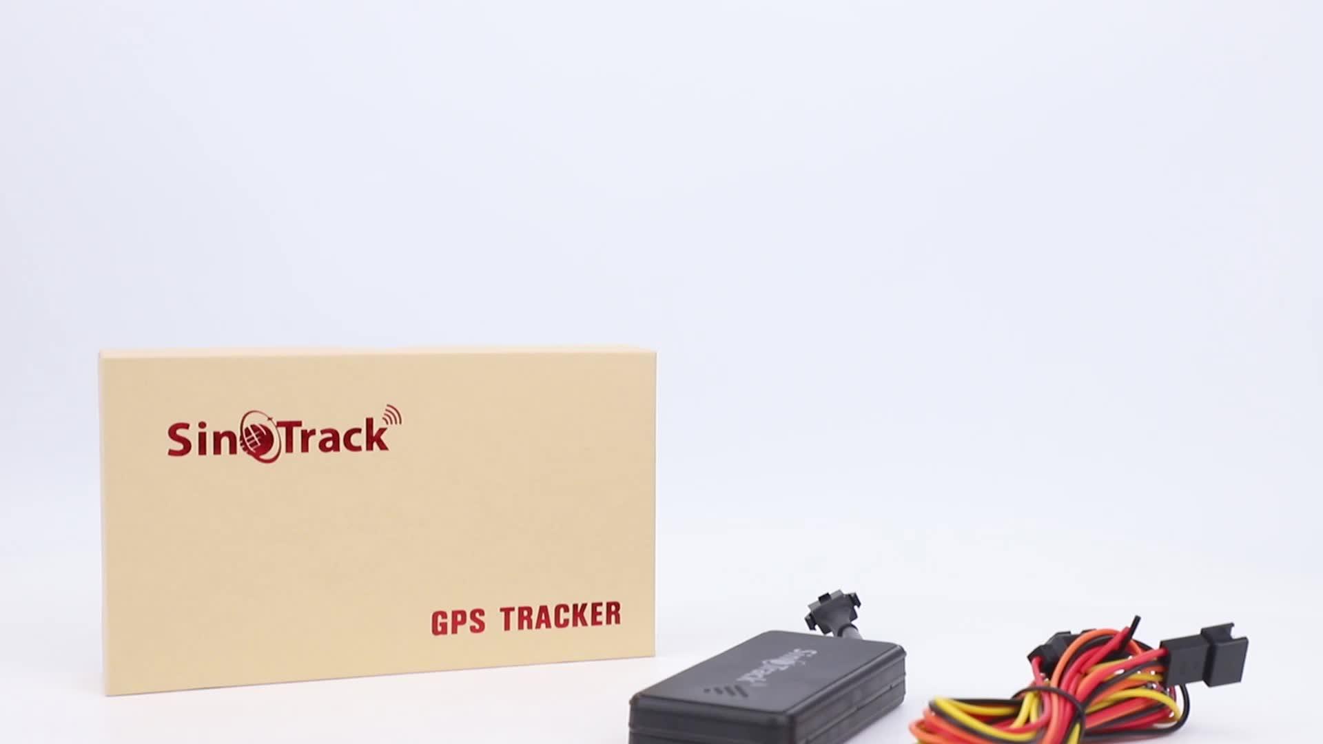 2020 SinoTrack חדש דגם ST-901A + GPS tracker