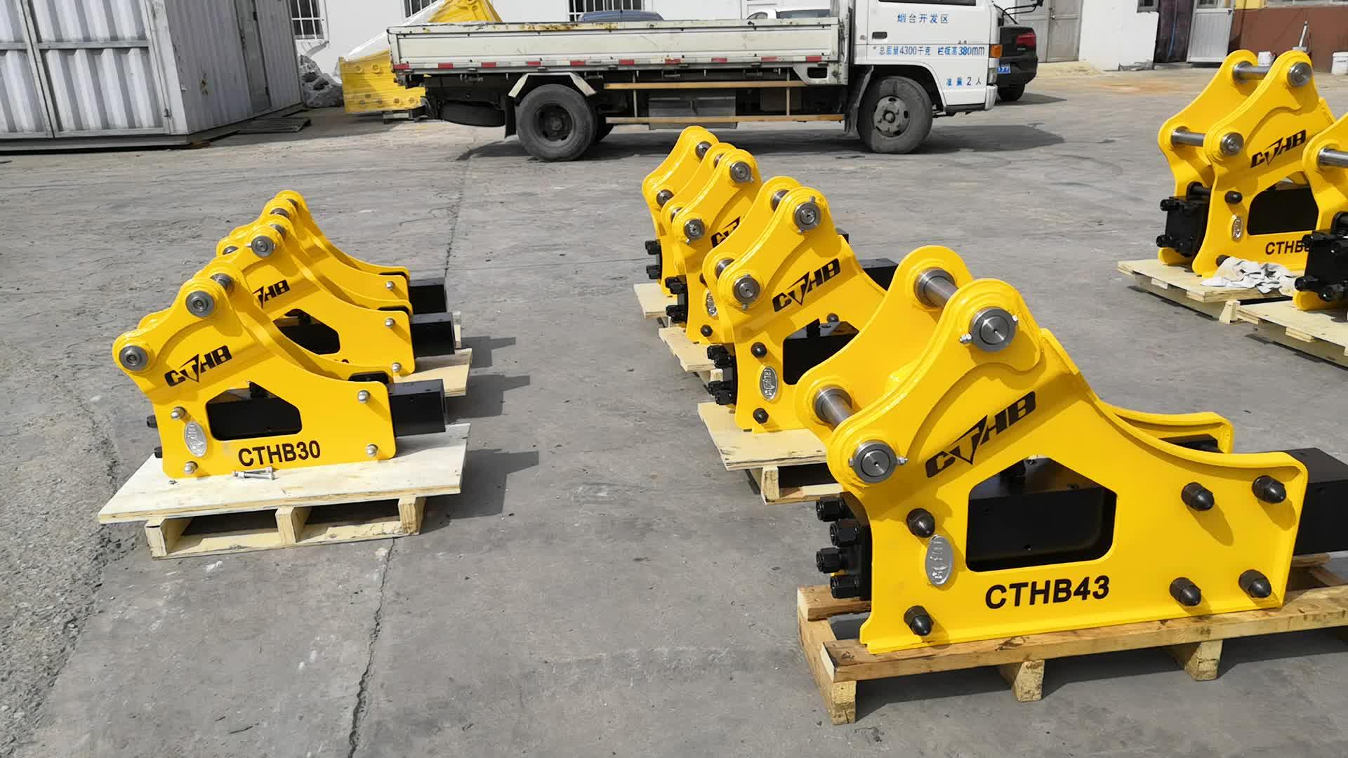 Çin Üretimi Mini Ekskavatör Parçaları Hidrolik kaya kırıcı çekiç Fiyat