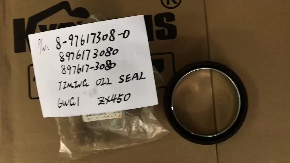 TIMING OIL SEAL FOR 8-97617308-0 8976173080 897617-3080 6WG1 ZX450