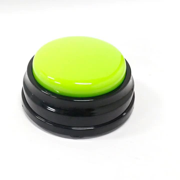 Mensagem falando botão jogo efeito de som de gravação profissional