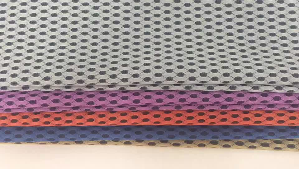 breathable eco-friendly 3d air mesh fabric for mattress and car seat