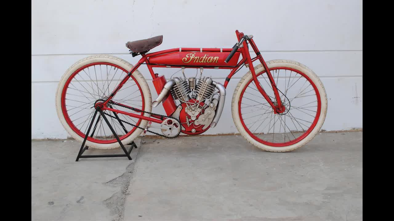 19120 Indian Metal Board Track Racer Bicycle Model Vintage Office Rustic Decor Antique Decoration