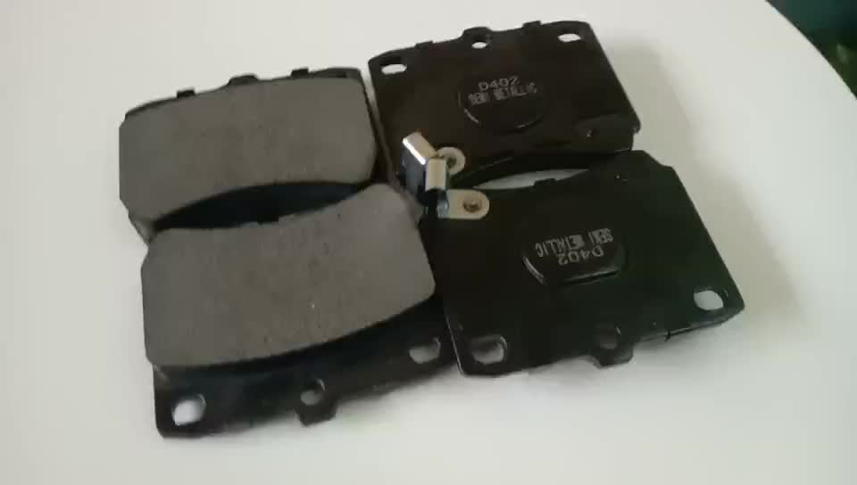 Auto chassis parts japan cars disc brake pad for toyota parts